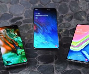 Galaxy S10: face recognition trapped