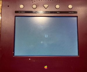 WALT Phone Apple, the ancestor of the iPhone and the iPad reappears