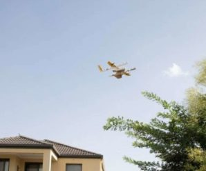 Google launches its first delivery service by drones