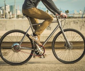 Nua Electrica, the titanium electric bike that recharges by pedaling