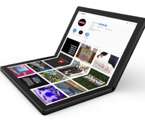 Thinkpad X1: Lenovo introduces the first foldable notebook PC