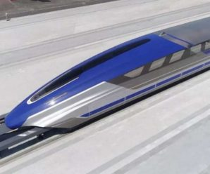 China unveils a train that travels at 600 km/h!