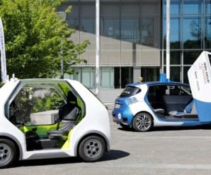 EZ-Pod and Zoe Cab, shared autonomous transport according to Renault