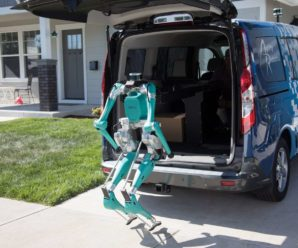 Autonomous car and humanoid robot: delivery of the future according to Ford