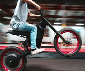 CAB Recon, the electric bike that goes at 100 km / h