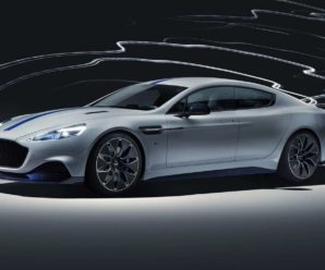A ride on the Aston Martin Rapide E
