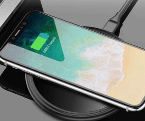wireless charging by induction is not indicated for the battery