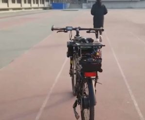 This bike that follows you everywhere has a real brain
