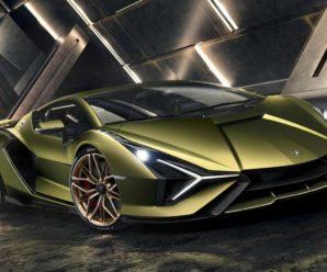 Lamborghini Sian: The first hybrid super car