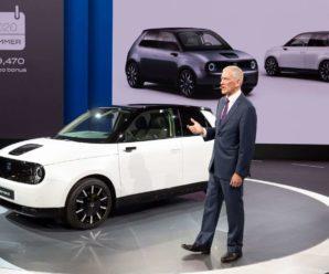 Frankfurt Motor Show 2019: the Honda e, under the bar of 30,000 euros!