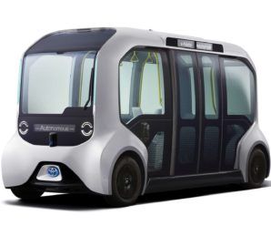 2020 Tokyo Olympics: Toyota unveils its autonomous electric shuttle