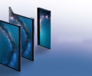 Mate X, Huawei's collapsible smartphone, shows up in a video