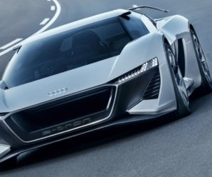 The Audi electric supercar AI: Race is unveiled in video