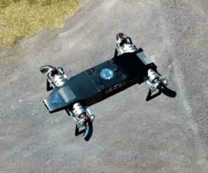 This supercharged drone has reached 400 km/h