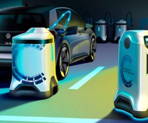 Volkswagen imagines the parking lot of the future with autonomous robots