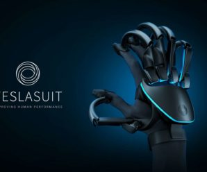 Teslasuite gloves allow you to feel virtual objects