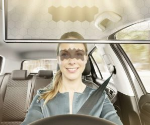 Bosch unveils a transparent sun visor for your automobile