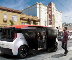 General Motors Unveils Cruise Origin Autonomous Taxi