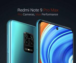Xiaomi presents its Redmi Note 9 Pro and Redmi Note 9 Pro Max