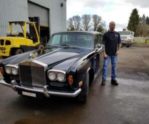 Johnny Cash's Rolls-Royce converted to electric thanks to a Tesla Model S
